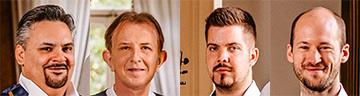 4 hoofden Kalinkamuzikanten
